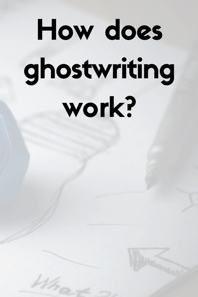 ghostwriting work